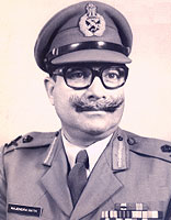 Major General Rajender Nath